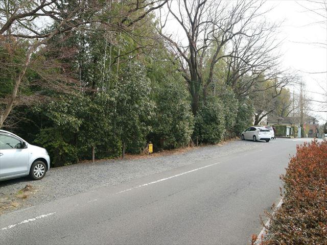 虎渓公園,駐車場