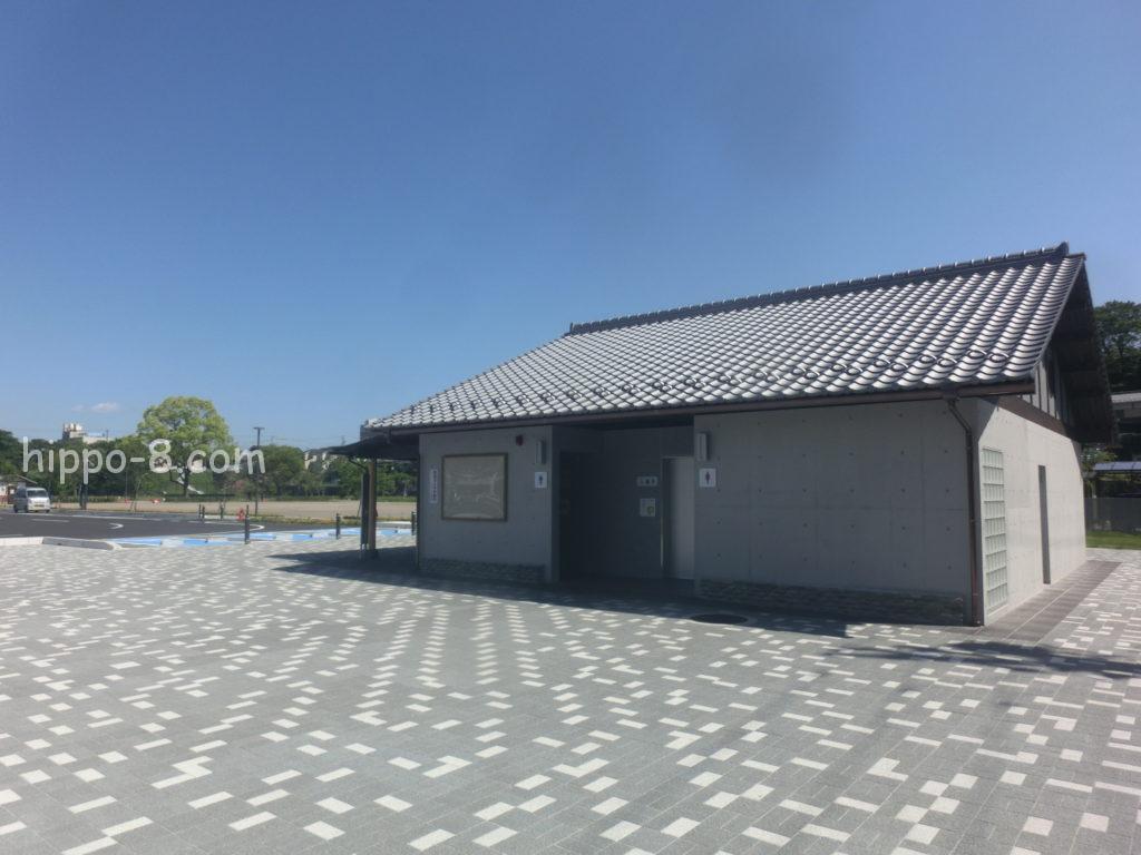 犬山城,駐車場,トイレ