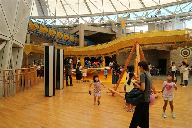 愛知県児童総合センター,遊び場