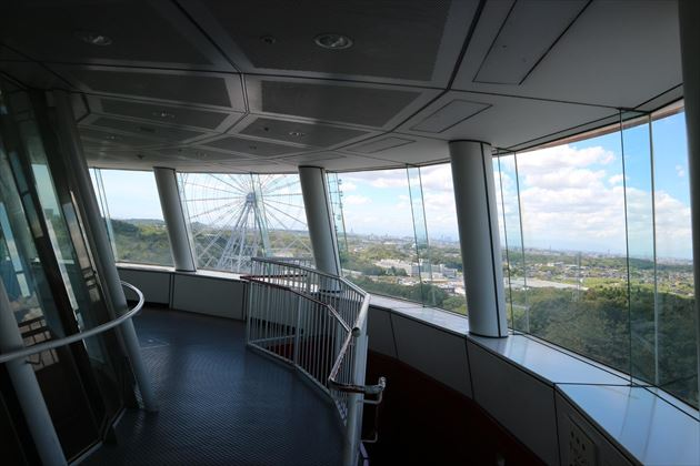 愛知県児童総合センター,チャレンジタワー,展望台
