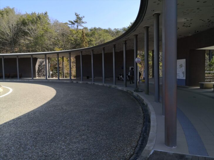 多治見土岐セラミックパークMINO駐車場から展望台